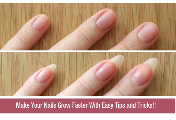 Make Your Nails Grow Faster With Easy Tips and Tricks!!