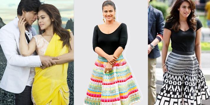 Kajol dilwale 2018 dress style