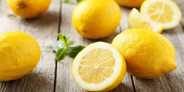 Soak your legs in warm water along with lemon juice
