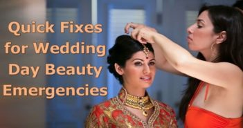 Quick Fixes for Wedding Day Beauty Emergencies