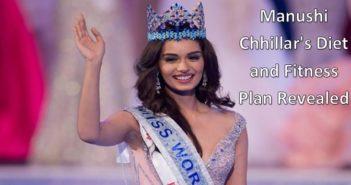Manushi Chhillar's diet and fitness plan