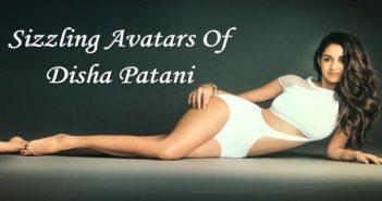 sizzling avatars of Disha Patani