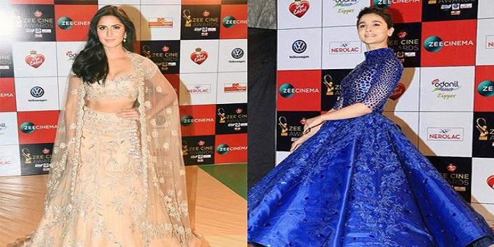 Beauty Looks from Zee Cine Awards 2018