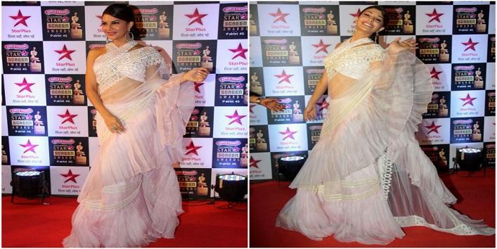 Fashion Statement with a Sari