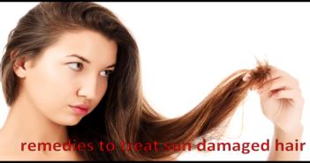 remedies to treat sun damaged hair