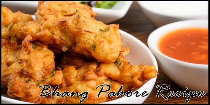Bhang Pakore Recipe