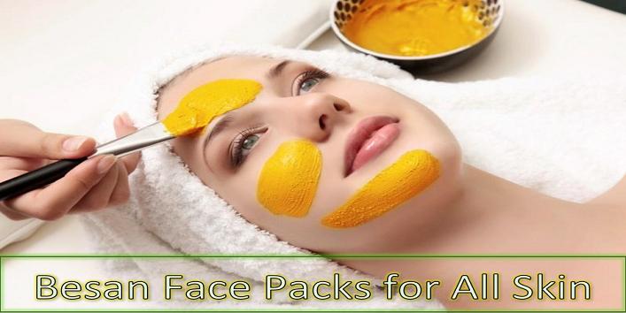 Besan Face Packs
