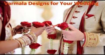 Varmala Designs for Your Wedding