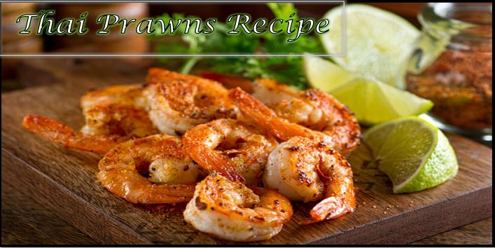 Thai prawns recipe