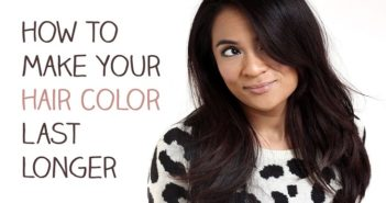 Make Your Hair Color Last Longer