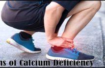 signs of calcium deficiency