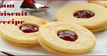 Jam Biscuit Recipe