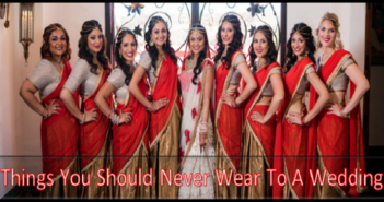 Things You Should Never Wear to a Wedding