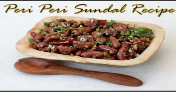 Peri Peri Sundal Recipe