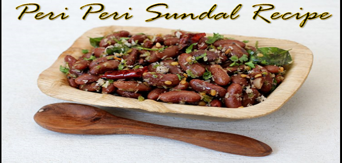 Quick Recipe: Try This Easy Peri Peri Sundal Recipe at Home