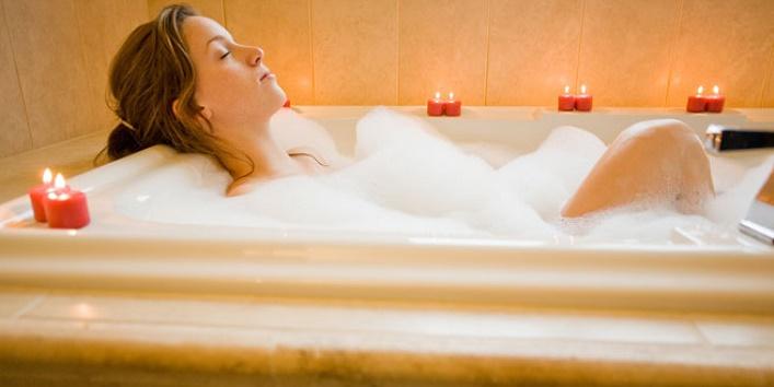 Take warm water bath