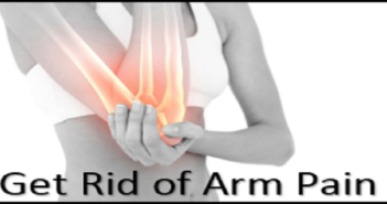 get rid of arm pain