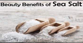 Beauty Benefits of Sea Salt
