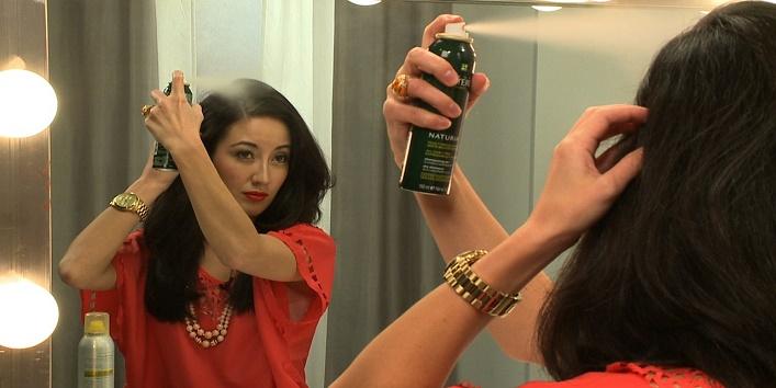 Use dry shampoo