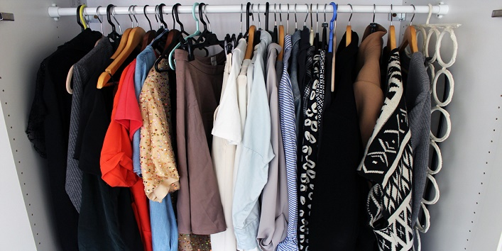 Don't forget to clean your closet