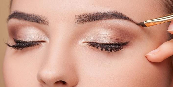 Rigth eyebrow shade