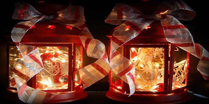 Light up the lanterns