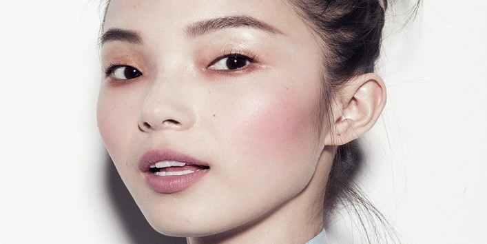 Where to apply blush?