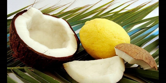 Coconut and lemon pack
