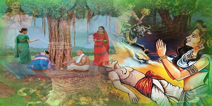 The story of Savitri and Satyavan