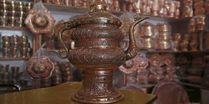 Clean copperware