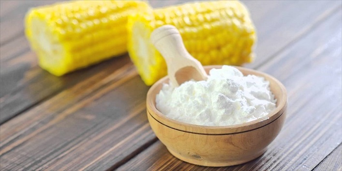 Vitamin E oil and cornstarch with baking soda