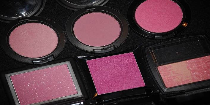 Avoid powder blush
