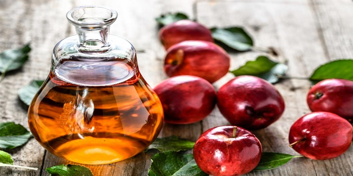Apple cider vinegar and honey bleach