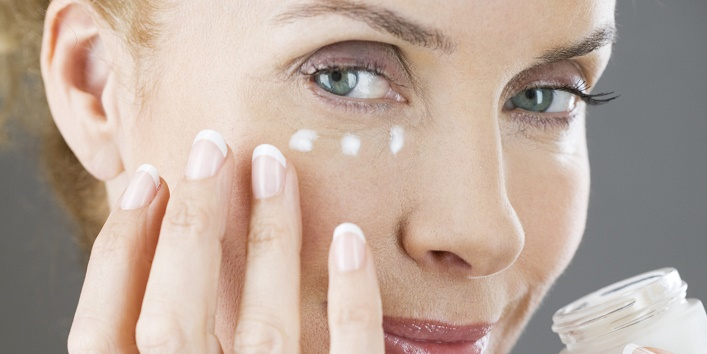 Use an eye cream