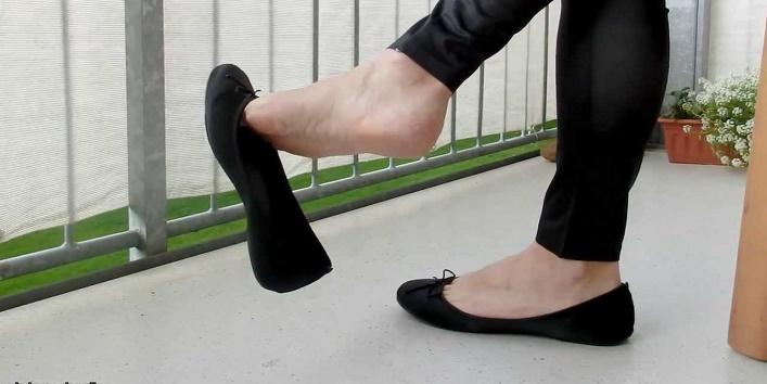 Say no to ballerinas shoes