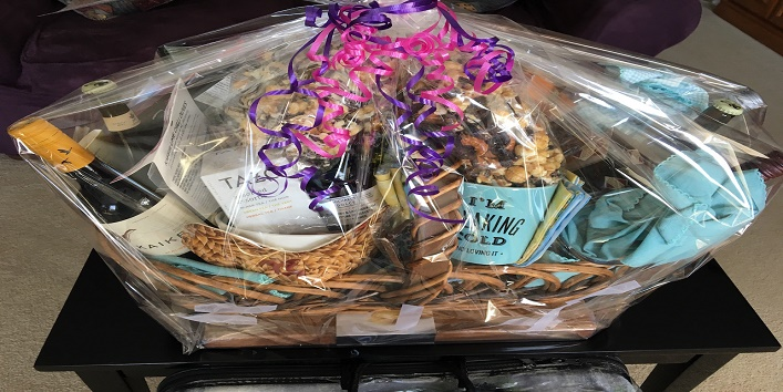 Buy her a basket full of goodies