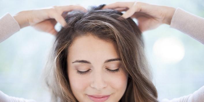 Always massage your scalp before hair wash